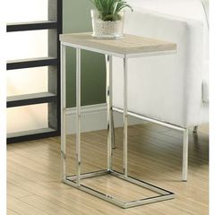 Buy Monarch Specialties 20x10 Rectangular Reclaimed-Look Accent Table in Natural on sale online
