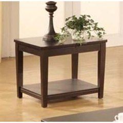 Buy Monarch Specialties 26x24 Rectangular End Table in Cappuccino on sale online