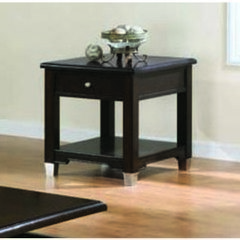 Buy Monarch Specialties 27x23 Rectangular End Table in Walnut on sale online