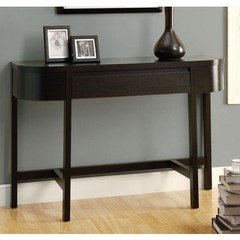 Buy Monarch Specialties 47x16 Rectangular Accent Console Table in Cappuccino on sale online