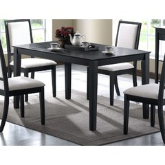 Buy Monarch Specialties 47x18 Console Dining Table in Black on sale online