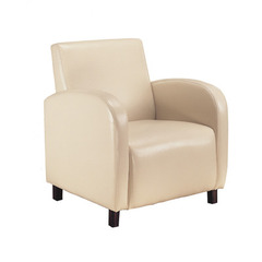 Buy Monarch Specialties Beige Leather-Look Accent Chair on sale online