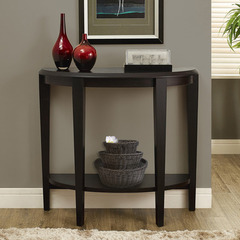 Buy Monarch Specialties Cappuccino 36x12 Hall Console Accent Table on sale online