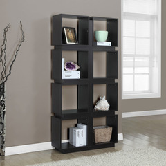 Buy Monarch Specialties Cappuccino Hollow-Core 71 Inch Bookcase on sale online