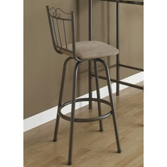 Buy Monarch Specialties 29 Inch Swivel Barstool in Coffee (Set of 2) on sale online
