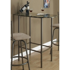 Buy Monarch Specialties 36x24 Spacesaver Bar Table in Cappuccino on sale online