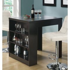 Buy Monarch Specialties 36x32 Counter Height Table in Cappuccino on sale online