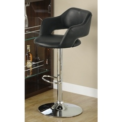 Buy Monarch Specialties Barstool w/ Hydraulic Lift in Black on sale online