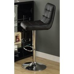 Buy Monarch Specialties Barstool w/ Hydraulic Lift in Black (Set of 2) on sale online