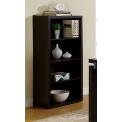 Buy Monarch Specialties 48 Inch Bookcase w/ Adjustable Shelves on sale online