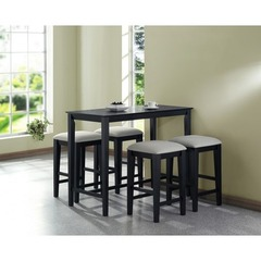 Buy Monarch Specialties 5 Piece 48x24 Counter Height Set on sale online