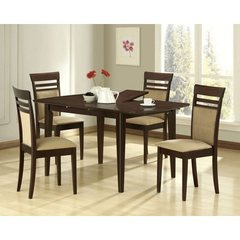 Buy Monarch Specialties 5 Piece 60x36 Dining Room Set on sale online