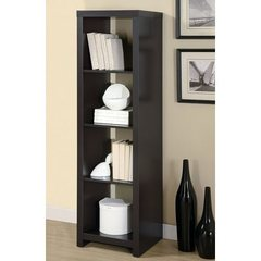 Buy Monarch Specialties 63 Inch Room Divider Bookcase in Cappuccino on sale online