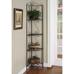 Buy Monarch Specialties 70 Inch Corner Display Etagere on sale online