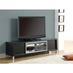 Buy Monarch Specialties 70 Inch Euro TV Console in Cappuccino on sale online