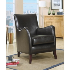 Buy Monarch Specialties Accent Chair in Dark Brown on sale online