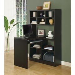 Buy Monarch Specialties Corner Desk in Cappuccino on sale online