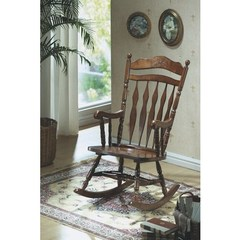 Buy Monarch Specialties Embossed Back Rocking Chair on sale online
