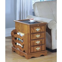 Buy Monarch Specialties Magazine Cabinet w/ Storage on sale online