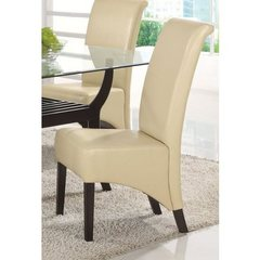Buy Monarch Specialties Parson Chair in Taupe (Set of 2) on sale online