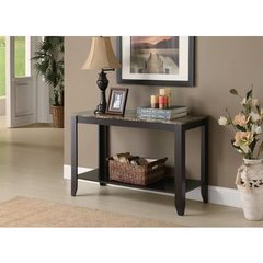 Buy Monarch Specialties 44x18 Sofa Table in Cappuccino on sale online