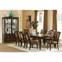 Buy Steve Silver Montblanc 9 Piece 60x46 Dining Room Set on sale online