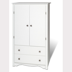 Buy Prepac Monterey 2 Drawer Armoire on sale online