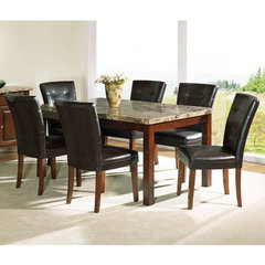 Buy Steve Silver Montibello 7 Piece 64x38 Dining Room Set on sale online