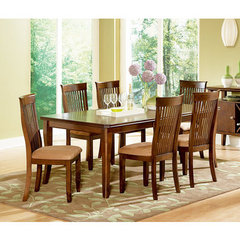 Buy Steve Silver Montreal 7 Piece 60x42 Dining Room Set on sale online