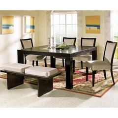 Buy Steve Silver Movado 6 Piece 60x60 Dining Room Set on sale online