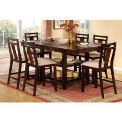 Buy Steve Silver Munich 7 Piece 48x48 Counter Height Set on sale online