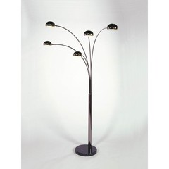Buy NOVA Lighting Mushroom 5-Light Arc Lamp in Black Nickel on sale online