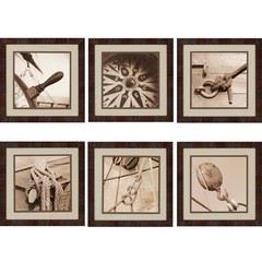 Buy Paragon Nautical 18x18 Framed Wall Art (Set of 6) on sale online