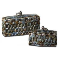 Buy Uttermost Neelab Container (Set of 2) on sale online
