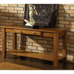 Buy Steve Silver Nelson 48x18 Sofa Table in Dark Oak on sale online
