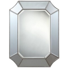 Buy Cooper Classics Nelson Mirror in Silver on sale online