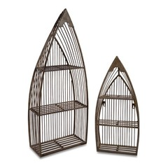 Buy IMAX Worldwide Nesting Boat Shelves (Set of 2) on sale online