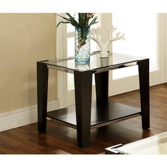 Buy Steve Silver Newman 26 Inch Square End Table in Espresso on sale online