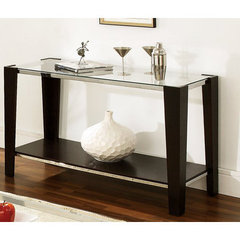 Buy Steve Silver Newman 50x20 Sofa Table in Espresso on sale online