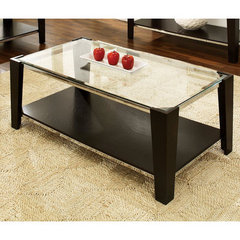 Buy Steve Silver Newman 50x26 Cocktail Table in Espresso on sale online
