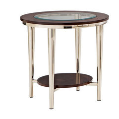 Buy Steve Silver Norton 23 Inch Round End Table on sale online