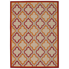 Buy Nourison Aloha 6 Red Area Rug on sale online