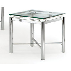 Buy Steve Silver Nova 24 Inch Square End Table on sale online
