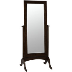 Buy Cooper Classics Oakes 69x27 Cheval Mirror in Tobacco on sale online