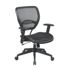 Buy Office Star Black AirGrid Seat & Back Deluxe Task Chair on sale online