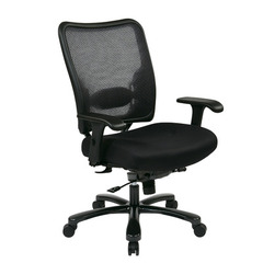 Buy Office Star Double AirGrid Big & Tall Back & Black Mesh Seat Ergonomic Chair on sale online