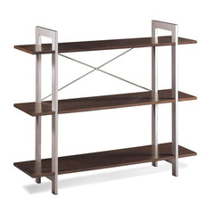 Buy Office Star 3 Tier Bookshelf in Espresso on sale online