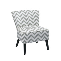Buy Office Star Apollo Chair in Zig Zag Grey on sale online