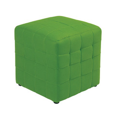 Buy Office Star Detour 15 Inch Green Fabric Cube Ottoman on sale online