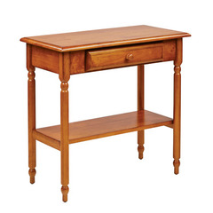 Buy Office Star Knob Hill 15x30 Foyer Table in Antique Cherry on sale online